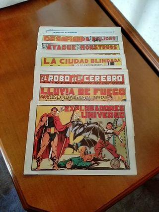 """Tebeos """"Conquistadores del Universo"""""""