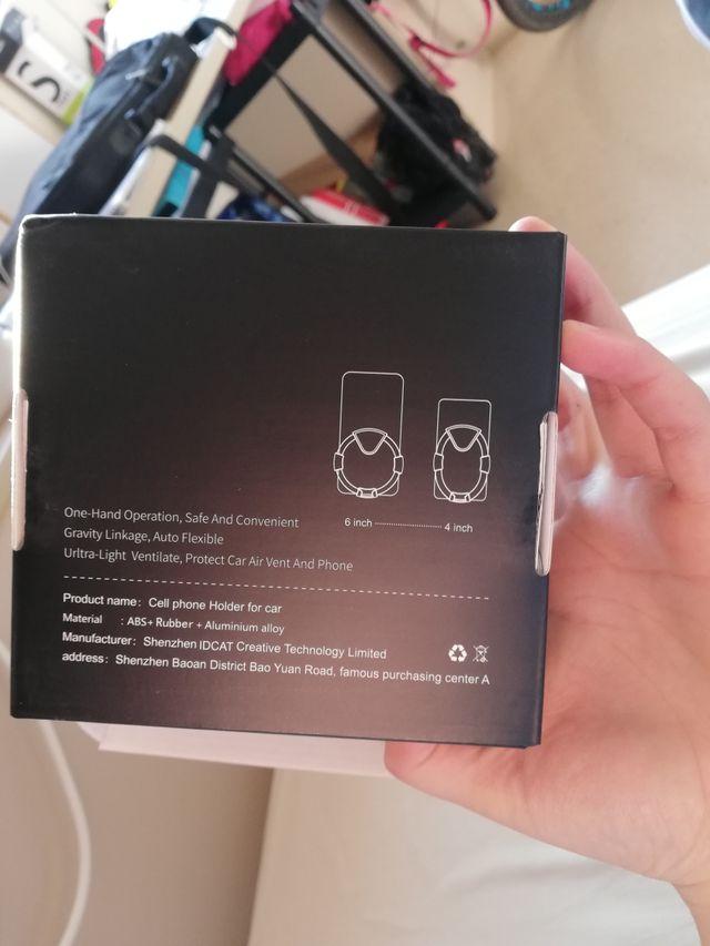 soporte móvil para coche