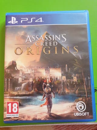 VIDEOJUEGO ASSISSINS CREED ORIGINS PS4
