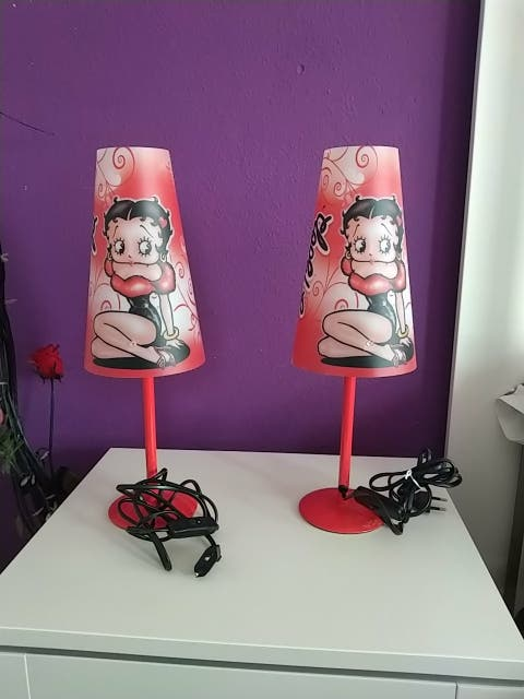 lámparas juveniles Betty Boop