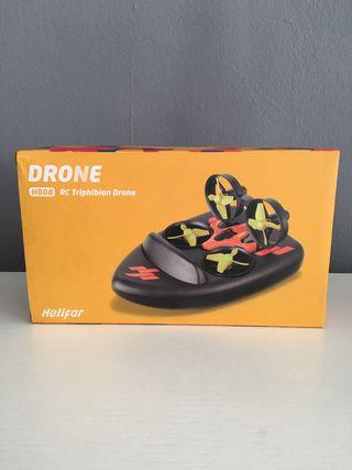 Drone + RC + Barco Helifar