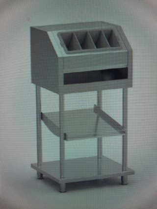 DISPENSADORES DE PAN EN ACERO INOX