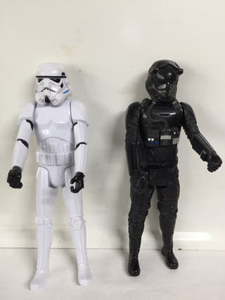2 figuras acción Star Wars 128