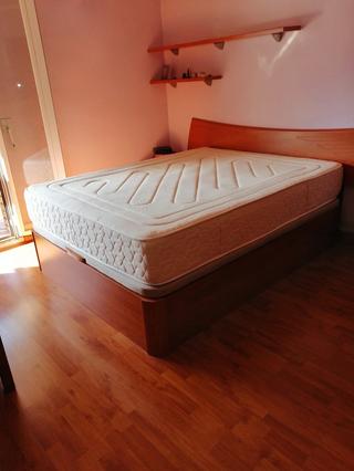 Canapé abatible + colchón 150x190