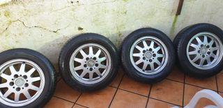 4 llantas 15pulgadas + 4 ruedas michelin