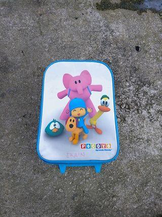 maleta de niño pocoyo