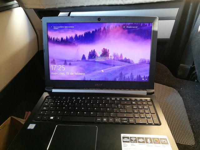 Portátil Acer Aspire i3 7020U
