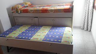 Cama nido habitación