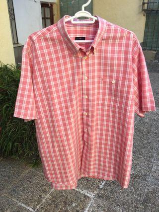 Camisa manga corta talla grande SUyBALEN