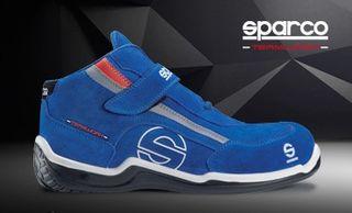 bota s3 sparco racing blue
