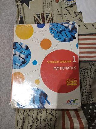 libro de matemáticas billingüe primero de la eso