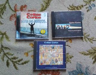 3 CDS CELTAS CORTOS,LOS 3 POR 10€