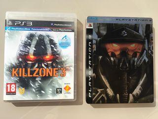 Pack 3 Videojuegos PS3 Killzone 1,2,3