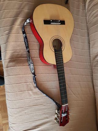 guitarra española de madera para niñ@