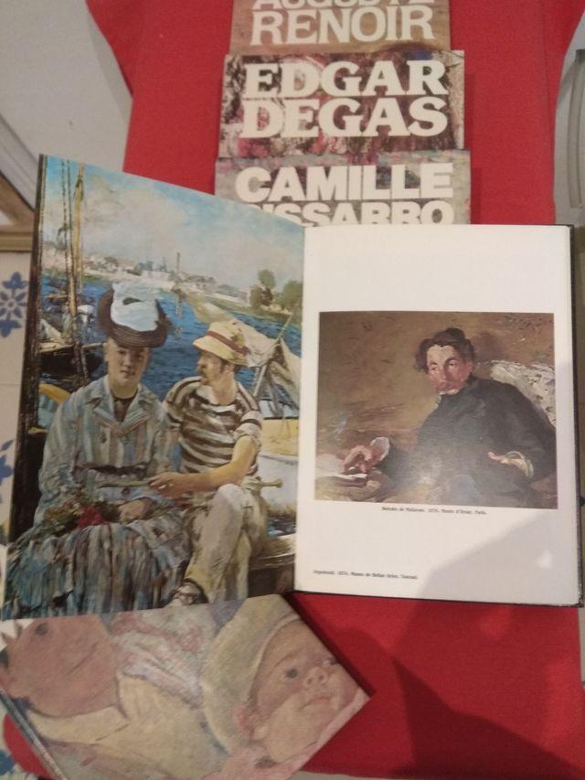 libros de pintores