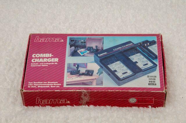 hama Combi-charger, cargador de baterías cámara