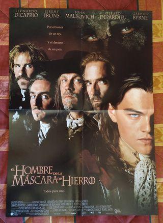 Poster Hombre Máscara de Hierro + The Boxer