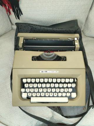 máquina escribir olivetti lettera 25