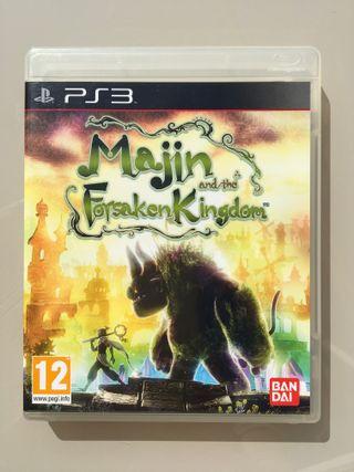 Videojuego PS3 Majin and the forsaken kingdom