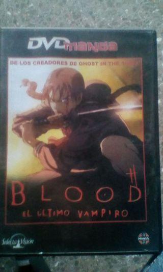 DVD Blood, el último vampiro