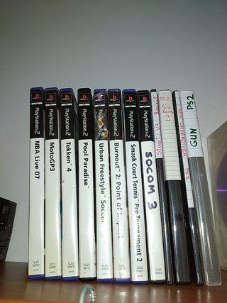12 juegos sony Playstation 2 originales