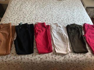 Pantalones Massimo Dutti 5 bolsillos. Talla 36
