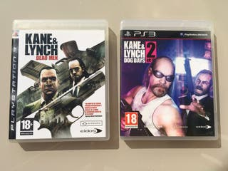 Pack 2 Videojuegos PS3 Kane & Lynch