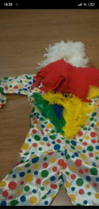 traje de gallina con careta