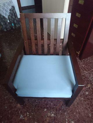 sillas madera estilo colonial