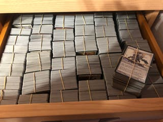 CARTAS MAGIC. 5.000 CARTAS COMUNES