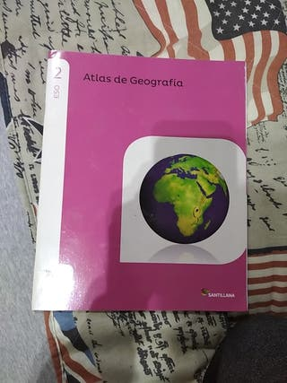 atlas de geografía segundo eso