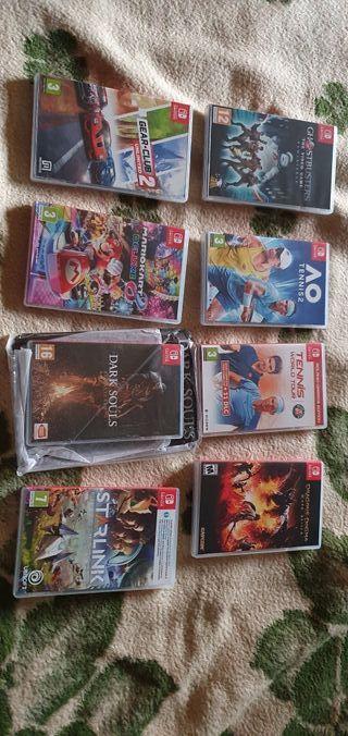 videojuegos nintendo switch 5 videojuegos