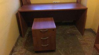 Mesa despacho + cajonera.