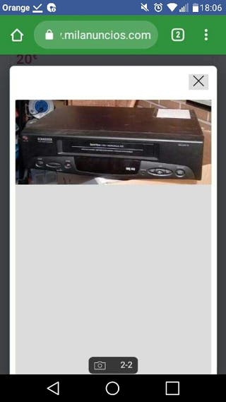 Video VHS Schneider. SVC 215.