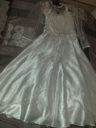 vendo vestido comunión talla 12
