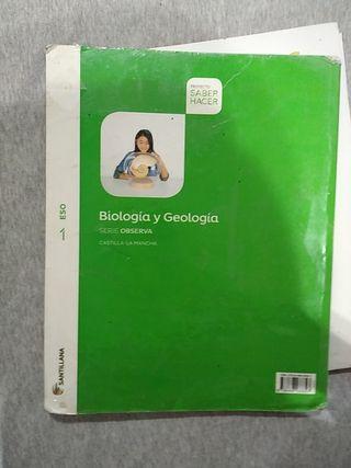 libro de biología y geología primero de eso