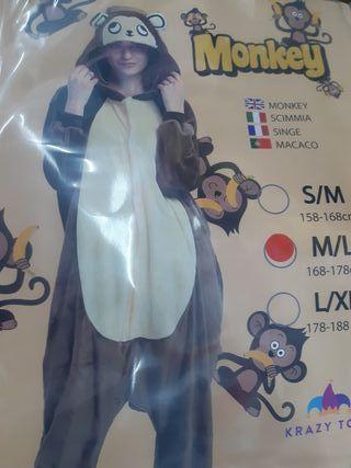 disfraz mono NUEVO