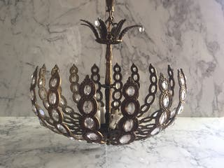 lámpara de techo 50s