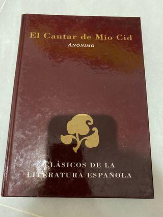 LIBRO EL CANTAR DE MÍO CID