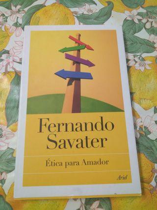 Ética para Amador. Fernando Sabater.