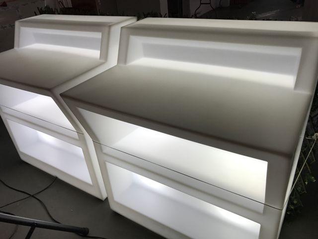 Muebles led para exterior