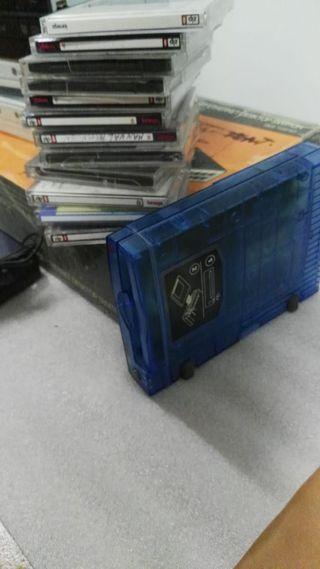 unidad iomega zip USB+ 15 discos zip