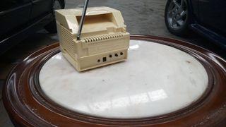 television vintage para coche,