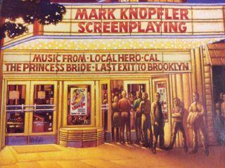 CD Mark Knopfler. Screenplaying