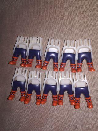 Playmobil lote Enanos 10 piernas