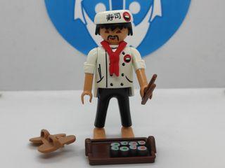 Playmobil cocinero Japonés