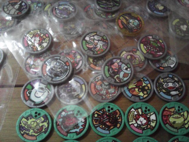 yo-kai yokai watch lote figuras medallas y mas