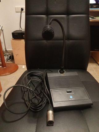 Microfono profesional para altavoces de discursos