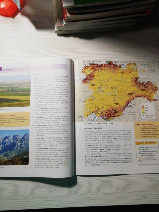 Libro Geografía 3°ESO + cuadernillos