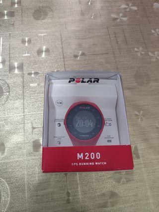 gps pulsometro polar m200